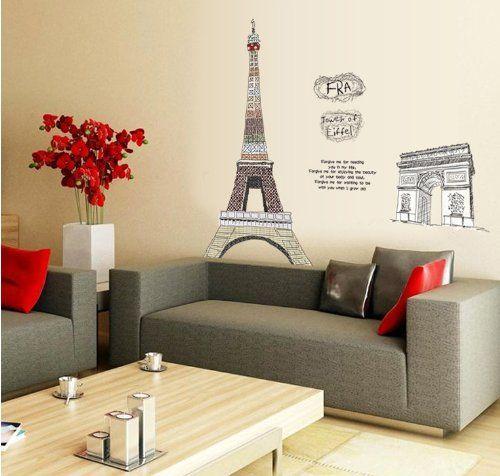 206 Best Images About Paris Eiffel Tower Decor On
