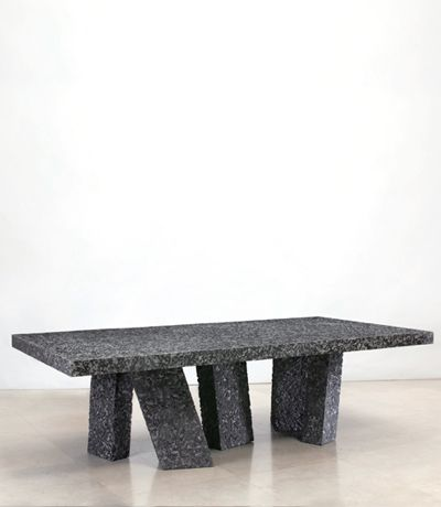 Dining Tables Herve Van Der Straeten Table Magma 426 Edition Of 8