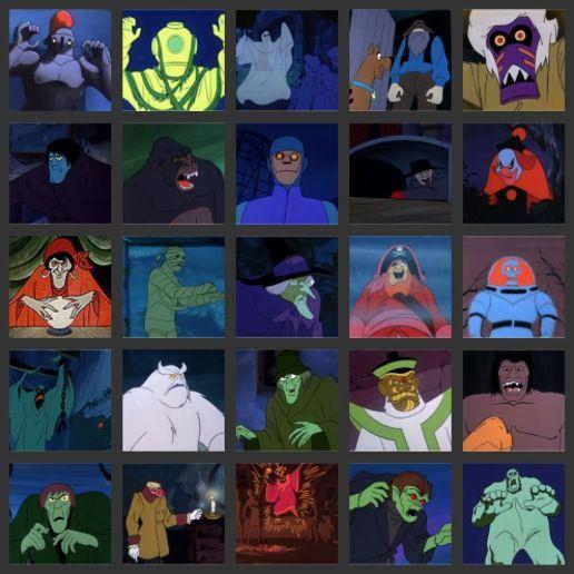Scooby Doo Villains