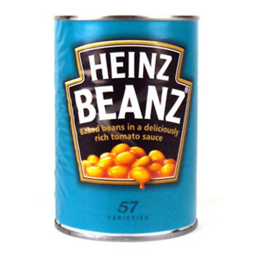 Heinz Baked Beans in Tomato Sauce - giant Eagle sells these.