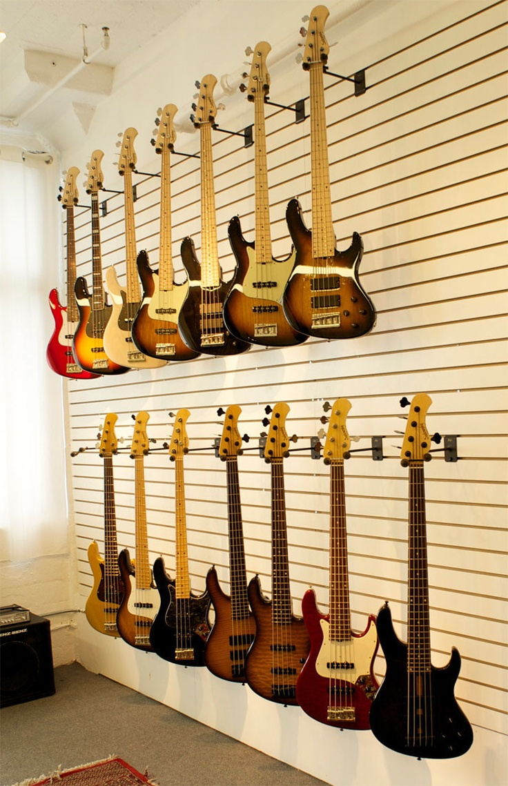 Sweet! // Sadowsky Guitars | New Shop In Long Island City, Queens