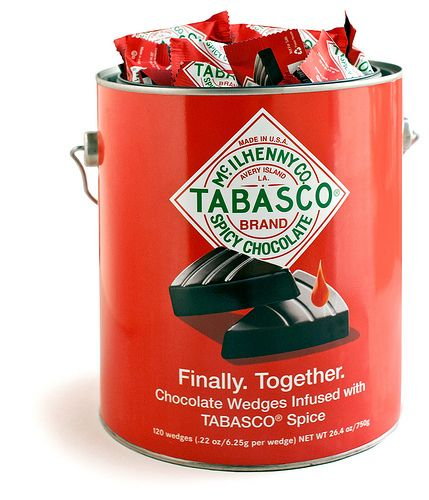 Tabasco Chocolate Paint Can