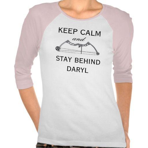 Keep Calm Daryl Tees