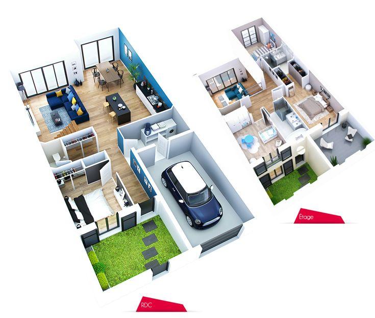 13 best Plan images on Pinterest Architecture, Arquitetura and - creer un plan de maison