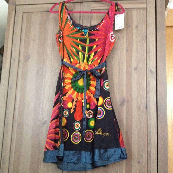 Vestido De La Marca Española Desigual Nuevo Y Original - $ 1,400.00 en MercadoLibre