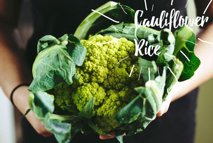 How to make Cauliflower Rice + Video Tutorial!