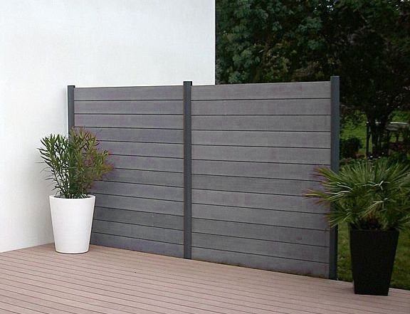plastic wood for fences - Google Search