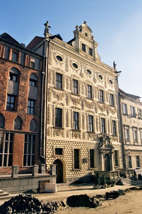 Dąmbskis Palace, Toruń - Poland