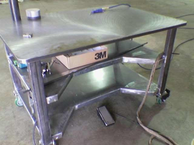 Welding Table Designs welding table vise and grinder stands im looking for ideas on how to use several Welding Table Ideas