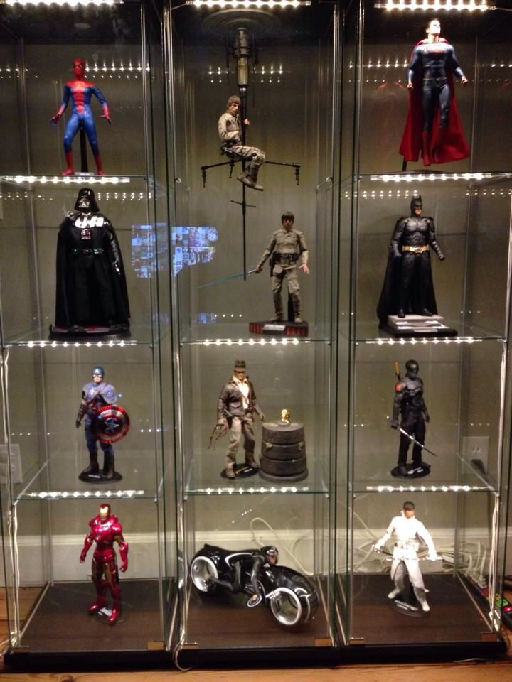 8 best images about detolf on pinterest models glass for Hot toys display case ikea