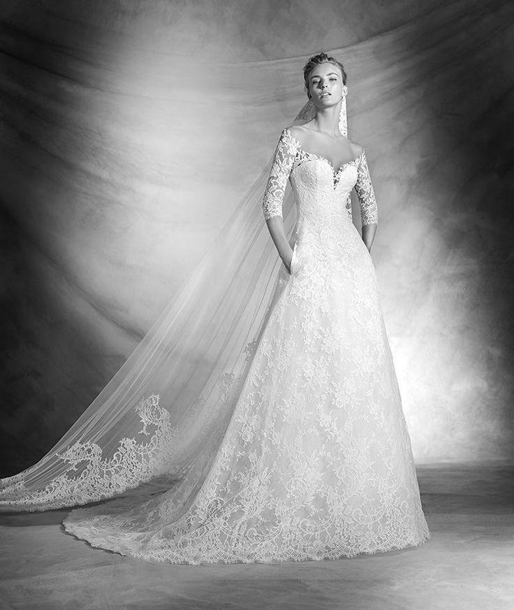 Romantic Wedding Dresses: 138 Best Images About ATELIER PRONOVIAS 2016 On Pinterest