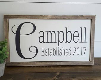 Last Name Wall Decor best 20+ last name decor ideas on pinterest | house name signs