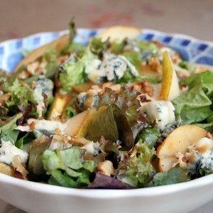 Салат дор-блю груши грецкий орех