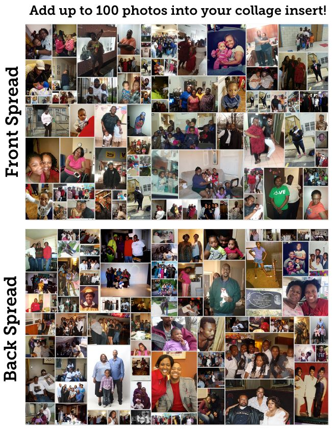 8 Page Program With Photo Collage Insert 1077 Prints Page