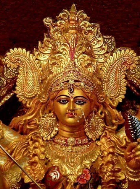 Spiritual Photos: Statue of Maa Durga
