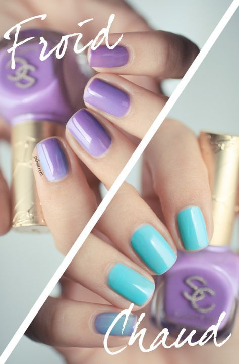 Sweet City, le vernis magique qui change de couleur