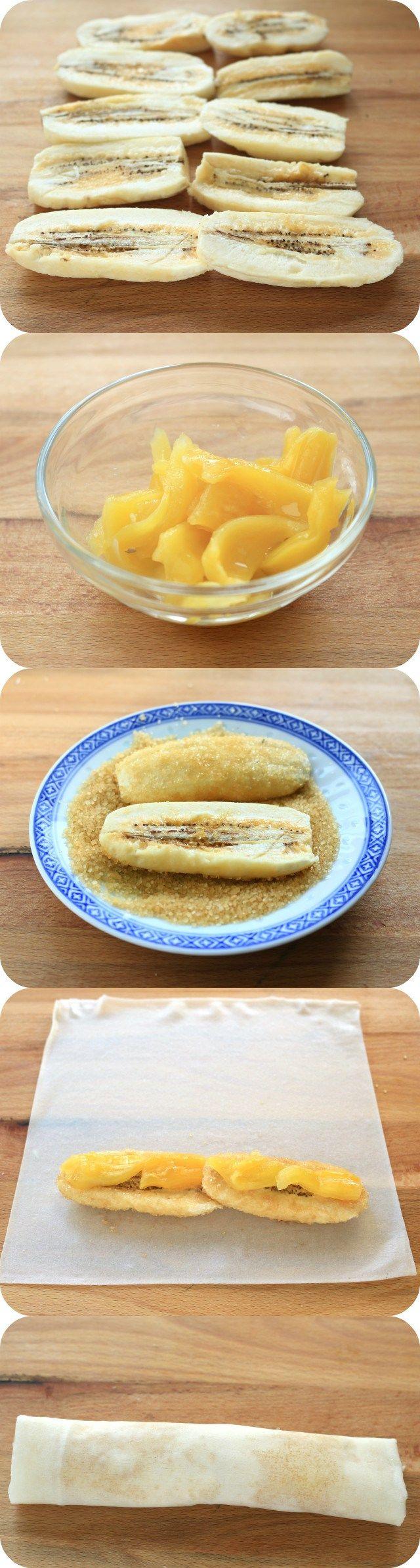 Turon Recipe (Banana Lumpia) |Foxy Folksy