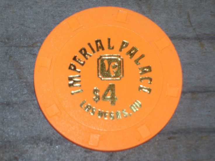 $4 GAMING CHIP FROM THE IMPERIAL PALACE CASINO LAS VEGAS NV VERY RARE | eBay