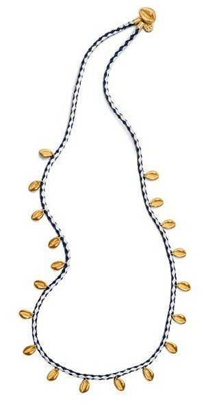 Tory Burch Mikah Woven Necklace