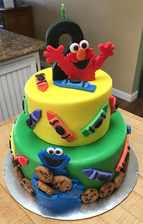 Best 25 Sesame Street Cake Ideas On Pinterest Elmo
