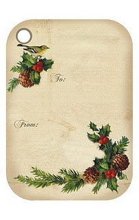 free Christmas tags on this site