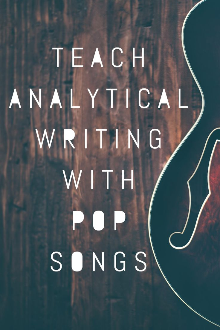 pop music lesson essay Using music in the classroom to inspire creative expression  tip #1 if you are using music for a lesson it almost always has to be instrumental unless you are.