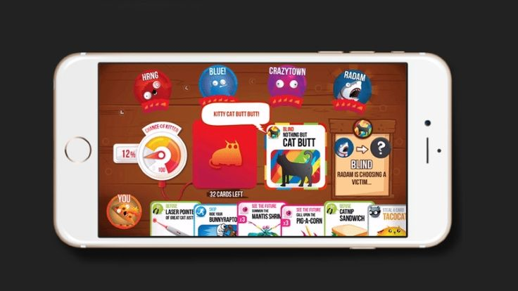 Exploding Kittens Tops App Store Charts Reviews Mixed Exploding Kittens Crowdfunding Projects App