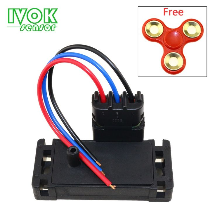 Free Fidget Spinner 3Bar (3 bar) Turbo Map Sensor For GM Cadillac Chevrolet Cruze Pontiac Buick 12223861 Pigtail Connector Plug