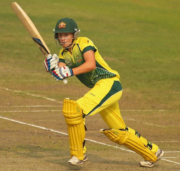 April 3, 2014: Australia v West Indies, 1st semi-final, Women's World T20, Mirpur But Alyssa Healy provided Australia some late impetus, striking 30 off 21 and taking Australia to a reasonable 140 (900×854)