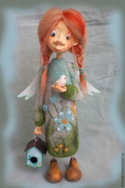Купить Маюша - феечка, ангелочек, ангел-хранитель, добрый подарок, теплый подарок, настроение