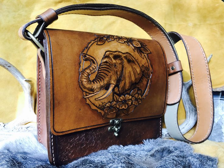 Leather ELEPHANT Bag / Purse by RavenHornLeather on Etsy https://www.etsy.com/ca/listing/550635518/leather-elephant-bag-purse