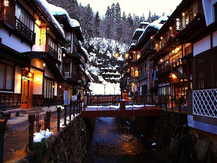 Ginzan-onsen hot spring in Yamagata, Japan. One of my best ever girls' weekends away...