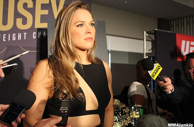 Video: Ronda Rousey touches on Holly Holm – and personal life – ahead of UFC 193 #rondarousey #WMMA #UFC #Australia