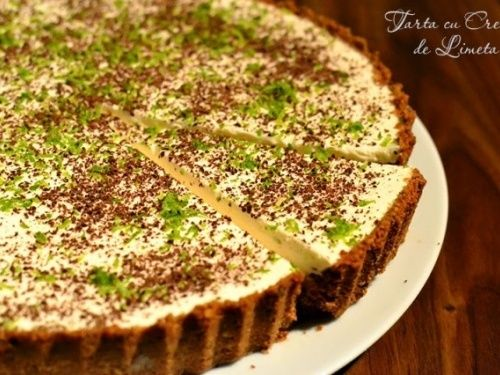 Tarta cu crema de limeta - imagine 1 mare