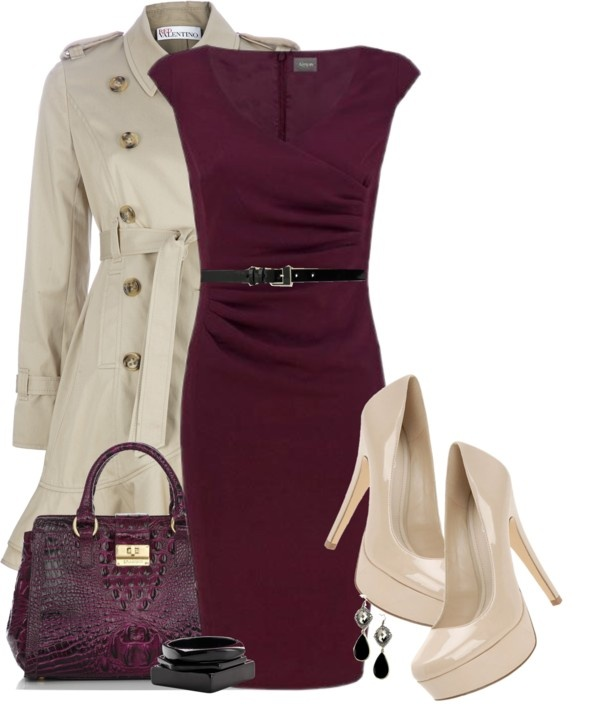 """""""Red Chocolate"""" by ohmeejean on Polyvore"""