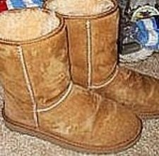 How to Clean Ugg Boots.... worth pinning in case it works...