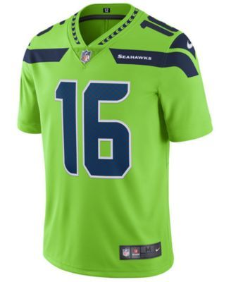 e946e2d279c ... Nike Mens Tyler Lockett Seattle Seahawks Limited Color Rush Jersey -  Green XL ...