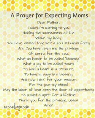 A Prayer for Expecting Moms