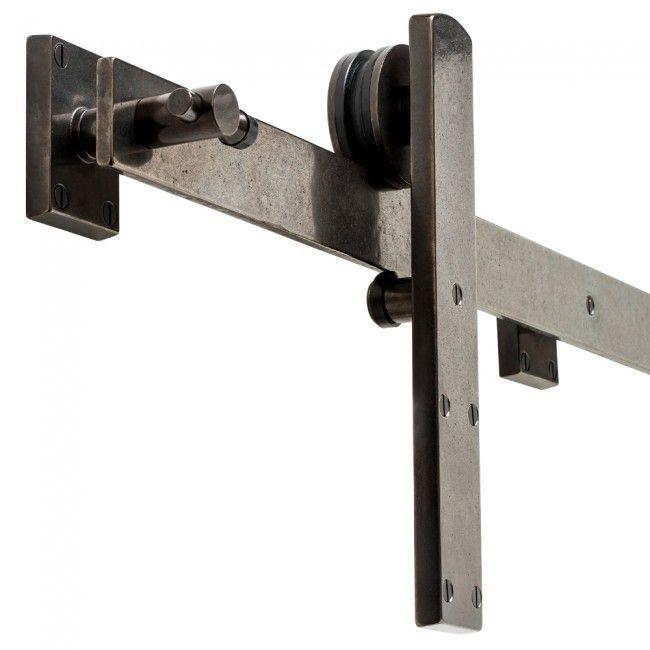 Rocky Mountain Hardware \\ BARN DOOR TRACK