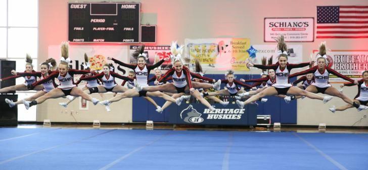 Via @HighSchoolOT: 2015 Wake County Schools Cheerleading Competition (Jan. 24, 2015)