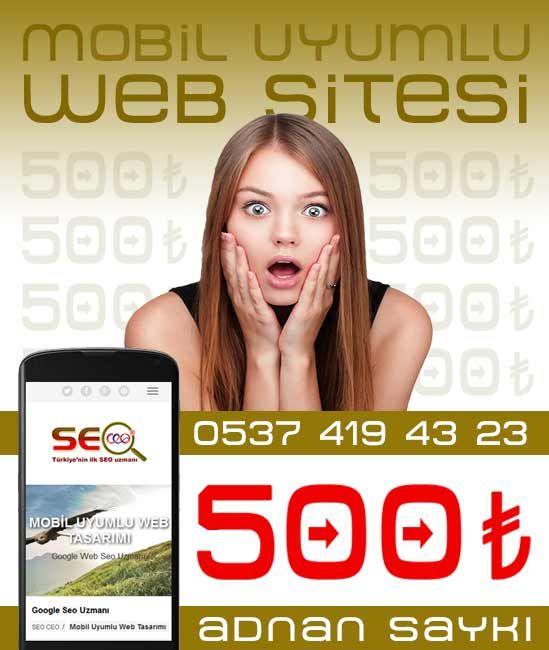 Mobil Uyumlu Web Tasarımı Fiyatı