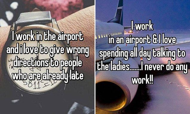 The shocking confessions of airport staff on anonymous app Whisper