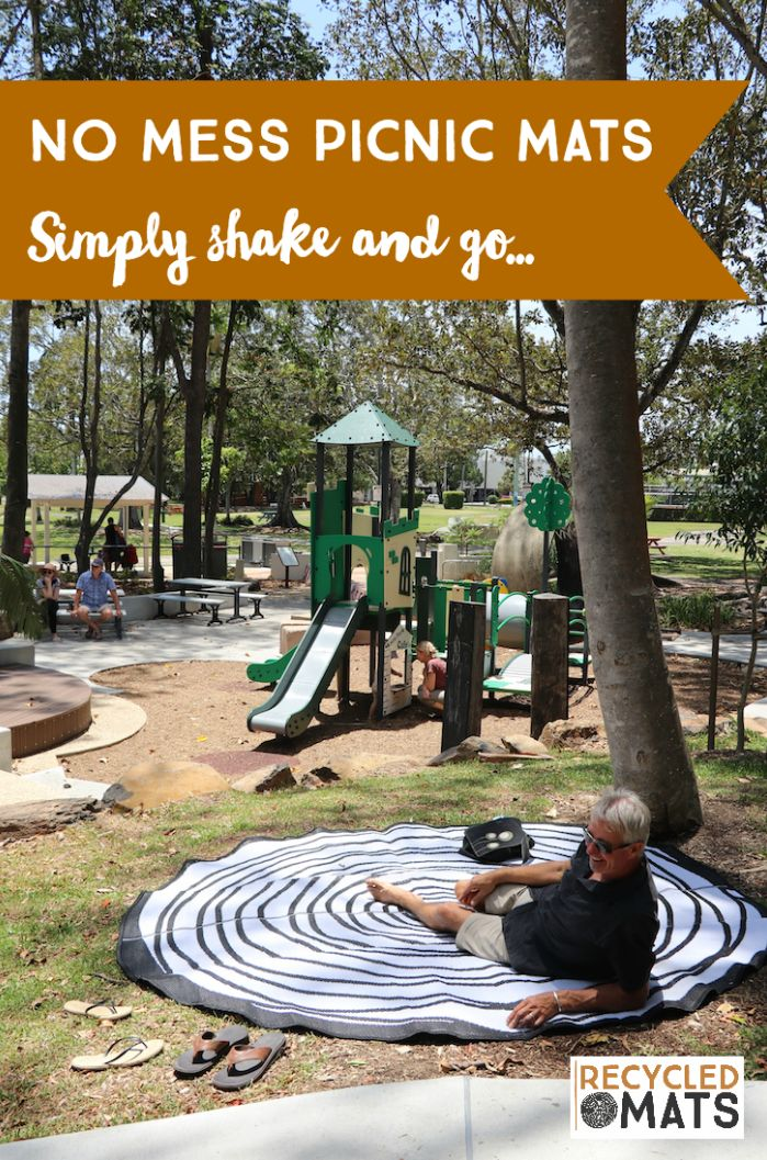 Fashionable & Eye-catching Picnic Mats - the perfect Instagram backdrop! Buy yours today... www.recycledmats.com.au
