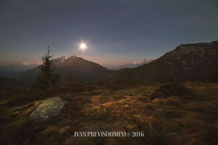 Notte, Passo del Mortirolo.  Agosto 2016