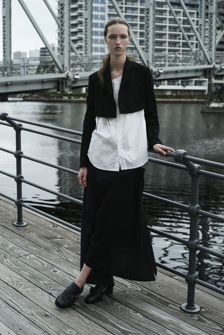 Y's by Yohji Yamamoto Ready To Wear Spring Summer 2015 Paris - NOWFASHION