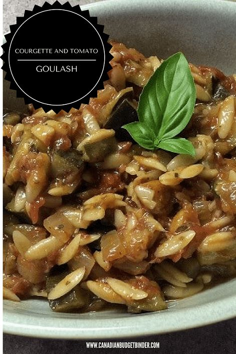 What I love about this One-Pot meal is that it is inexpensive and perfect for a Meatless Monday or any day of the week meal. This recipe uses Italian Orzo pasta which helps to bulk up the goulash which is filled with tonnes of flavour. Enjoy and let us know what you think. Nicky and Mr.CBB :)