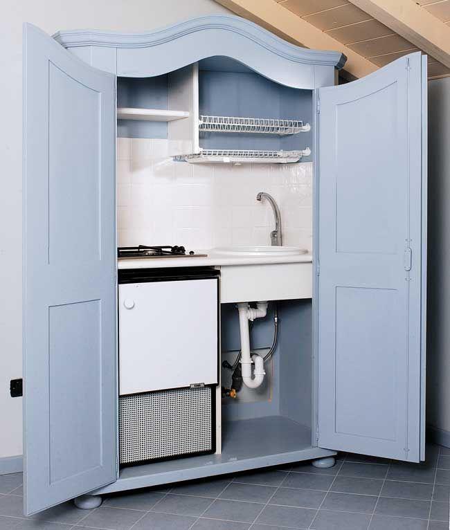 cucina armadio fai da te, armadio cucina fai da te, armadio cucina, cucina armadio, cucina salvaspazio, cucine piccole