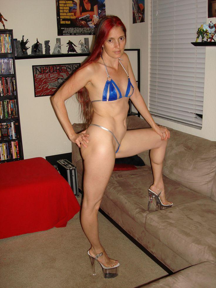 Wife in extreme bikini pics