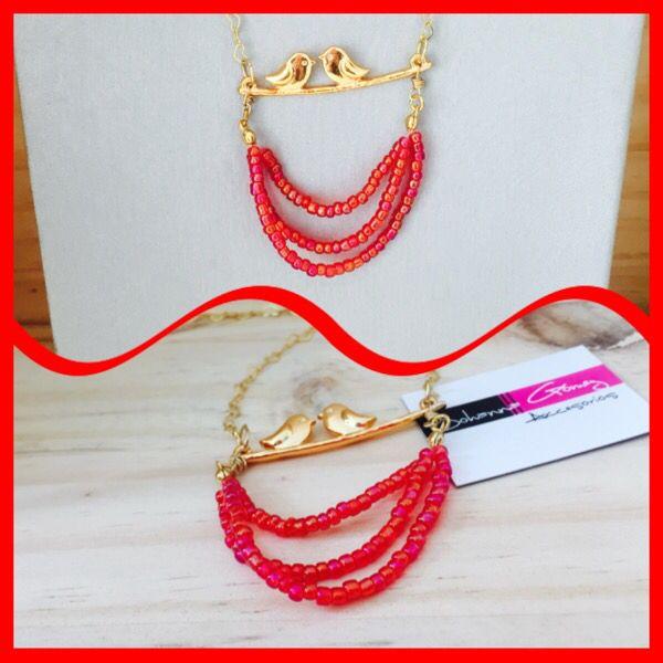 Mini collar pájaros - baño en oro ! Envíos a cualquier ciudad 3115568146 diseños exclusivos solo aquí en Accesorios Johanna Gómez