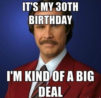 best thirty birthday memes